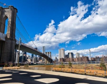 Brooklyn Bridge Mahattan Skyine | Lower Manhattan Skyline